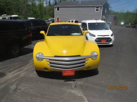 2003 Chevrolet SSR for sale at D & F Classics in Eliot ME