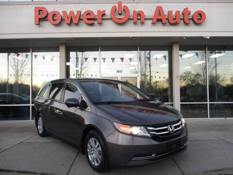 2016 Honda Odyssey for sale at Power On Auto LLC in Monroe NC