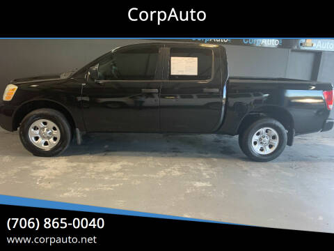 2005 Nissan Titan for sale at CorpAuto in Cleveland GA
