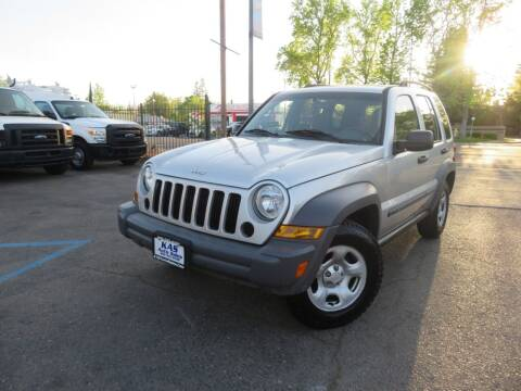 2005 Jeep Liberty for sale at KAS Auto Sales in Sacramento CA
