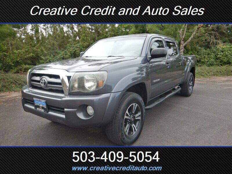 2009 Toyota Tacoma for sale at Creative Credit & Auto Sales in Salem OR