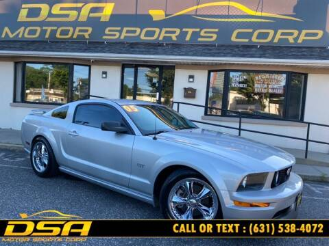 2005 Ford Mustang for sale at DSA Motor Sports Corp in Commack NY