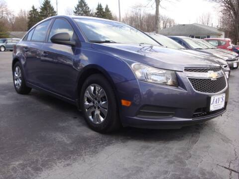 2013 Chevrolet Cruze for sale at Jay's Auto Sales Inc in Wadsworth OH