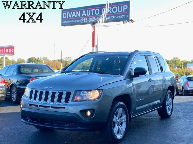2014 Jeep Compass for sale at Divan Auto Group in Feasterville Trevose PA