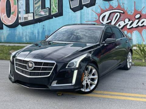 2014 Cadillac CTS for sale at Palermo Motors in Hollywood FL