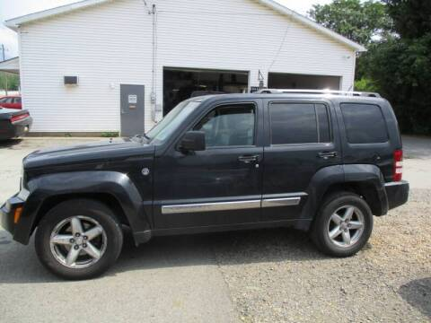 2008 Jeep Liberty for sale at ROUTE 119 AUTO SALES & SVC in Homer City PA