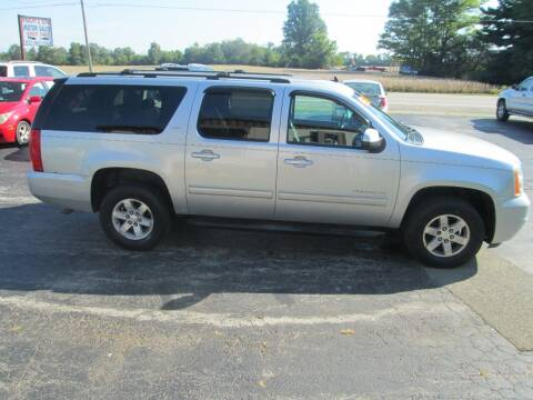 2012 GMC Yukon XL for sale at Knauff & Sons Motor Sales in New Vienna OH