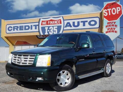 2002 Cadillac Escalade for sale at Buy Here Pay Here Lawton.com in Lawton OK