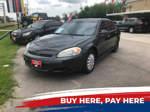 2013 Chevrolet Impala for sale at FREDY CARS FOR LESS in Houston TX