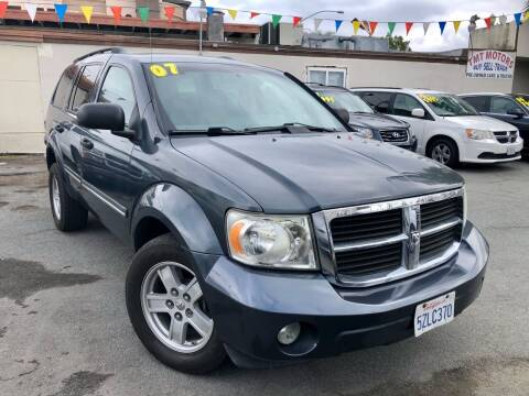 2007 Dodge Durango for sale at TMT Motors in San Diego CA