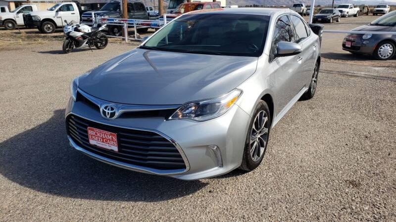 2016 Toyota Avalon for sale at Bickham Used Cars in Alamogordo NM