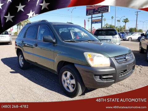 2006 Kia Sportage for sale at 48TH STATE AUTOMOTIVE in Mesa AZ