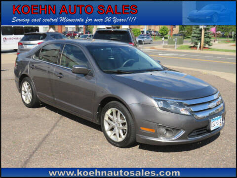 2011 Ford Fusion for sale at Koehn Auto Sales in Lindstrom MN