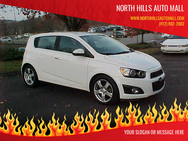 2012 Chevrolet Sonic for sale at North Hills Auto Mall in Pittsburgh PA