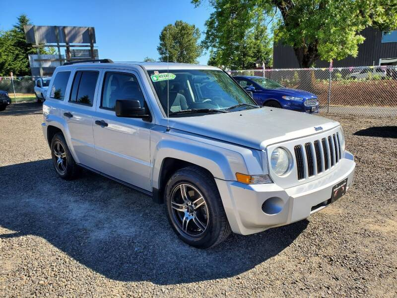 2009 Jeep Patriot for sale at McMinnville Auto Sales LLC in Mcminnville OR
