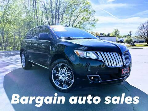 2011 Lincoln MKX for sale at Bargain Auto Sales LLC in Garden City ID