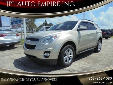 2015 Chevrolet Equinox for sale at JPL AUTO EMPIRE INC. in Auburndale FL