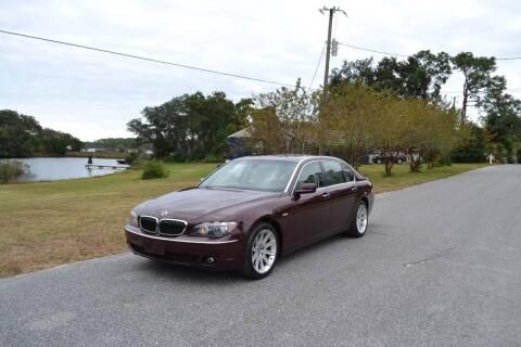 2006 BMW 7 Series for sale at Car Bazaar in Pensacola FL