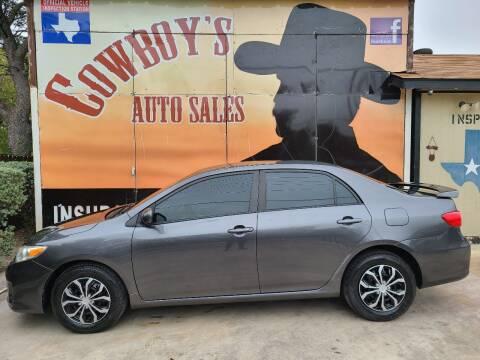 2011 Toyota Corolla for sale at Cowboy's Auto Sales in San Antonio TX