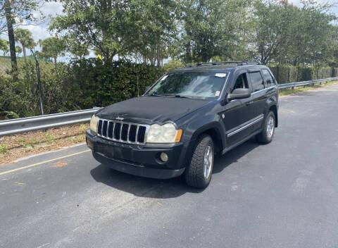 2005 Jeep Grand Cherokee for sale at L G AUTO SALES in Boynton Beach FL