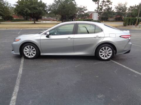 2018 Toyota Camry for sale at BALKCUM AUTO INC in Wilmington NC
