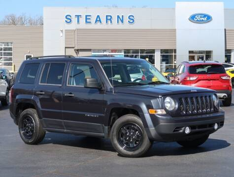 2016 Jeep Patriot for sale at Stearns Ford in Burlington NC