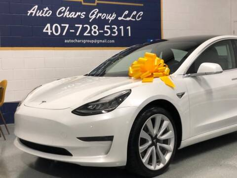 2020 Tesla Model 3 for sale at Auto Chars Group LLC in Orlando FL