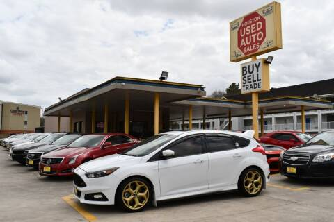2018 Ford Focus for sale at Houston Used Auto Sales in Houston TX
