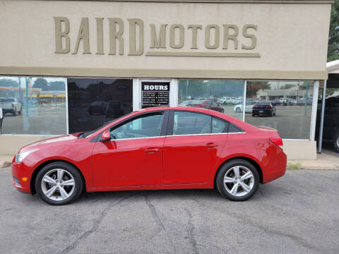 2014 Chevrolet Cruze for sale at BAIRD MOTORS in Clearfield UT