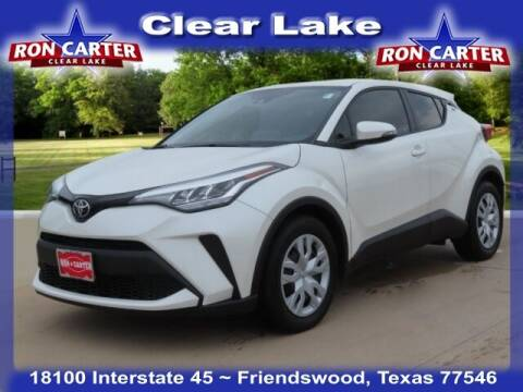 2021 Toyota C-HR for sale at Ron Carter  Clear Lake Used Cars in Houston TX
