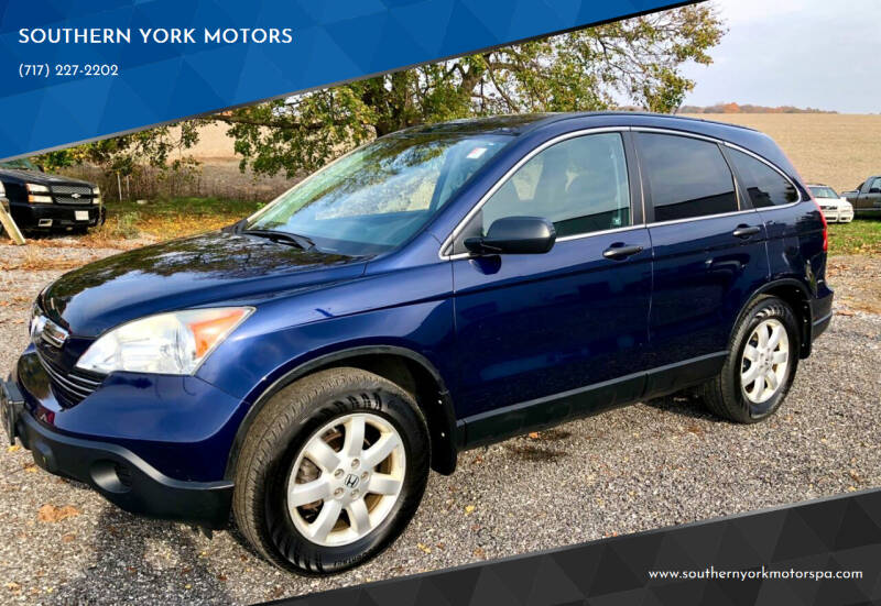 2008 Honda CR-V for sale at SOUTHERN YORK MOTORS in New Freedom PA