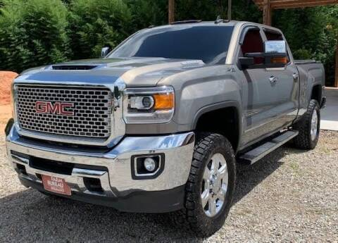 2017 GMC Sierra 2500HD for sale at Billy Miller Auto Sales in Mount Olive MS