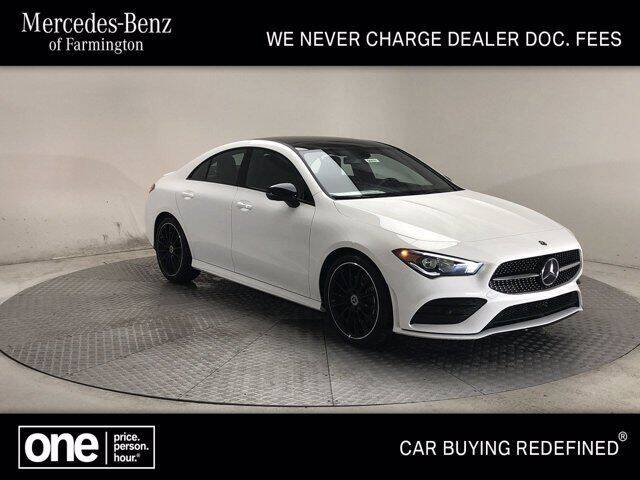 2020 Mercedes-Benz CLA CLA 250 4MATIC