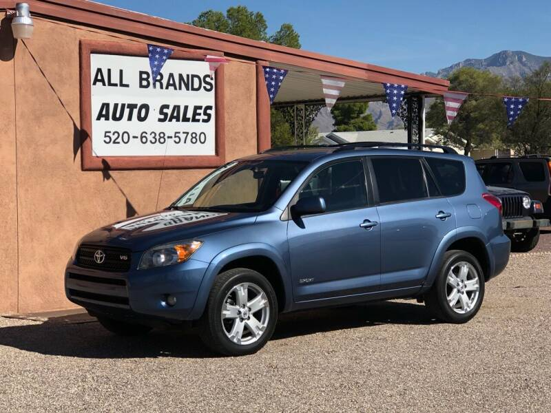 2007 Toyota RAV4 for sale at All Brands Auto Sales in Tucson AZ