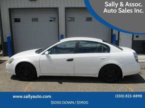 2005 Nissan Altima for sale at Sally & Assoc. Auto Sales Inc. in Alliance OH