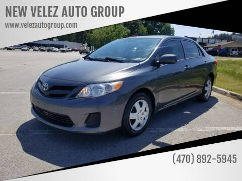 2013 Toyota Corolla for sale at NEW VELEZ AUTO GROUP in Gainesville GA