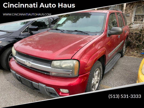2002 Chevrolet TrailBlazer for sale at Cincinnati Auto Haus in Cincinnati OH