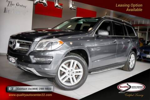 2015 Mercedes-Benz GL-Class for sale at Quality Auto Center of Springfield in Springfield NJ