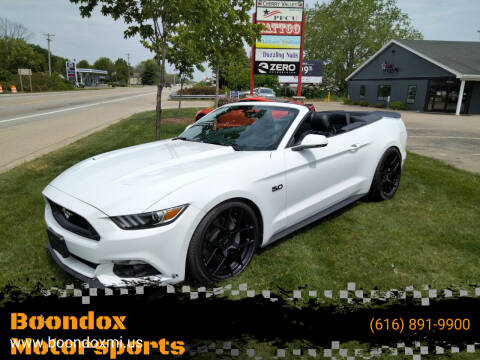 2015 Ford Mustang for sale at Boondox Motorsports in Caledonia MI