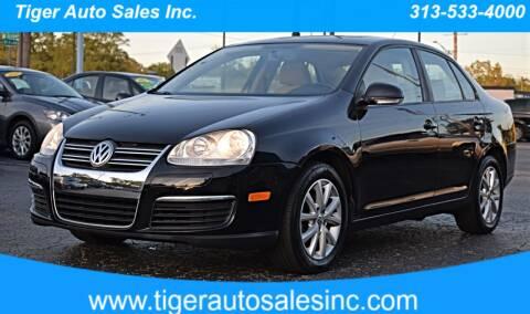 2010 Volkswagen Jetta for sale at TIGER AUTO SALES INC in Redford MI