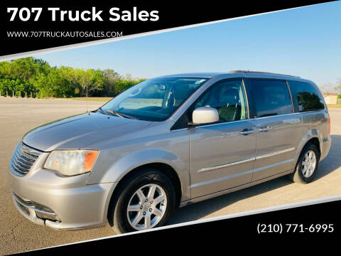 2013 Chrysler Town and Country for sale at 707 Truck Sales in San Antonio TX