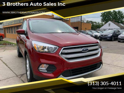 2019 Ford Escape for sale at 3 Brothers Auto Sales Inc in Detroit MI