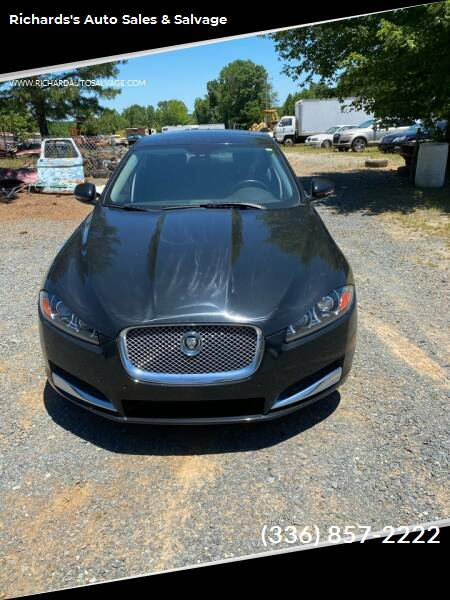 2013 Jaguar XF for sale at Richards's Auto Sales & Salvage in Denton NC