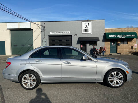 2009 Mercedes-Benz C-Class for sale at 57 AUTO in Feeding Hills MA