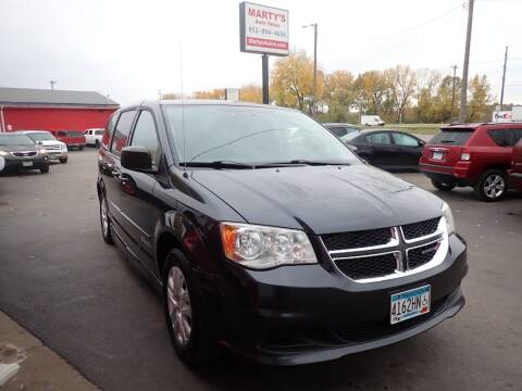 2013 Dodge Grand Caravan for sale at Marty's Auto Sales in Savage MN