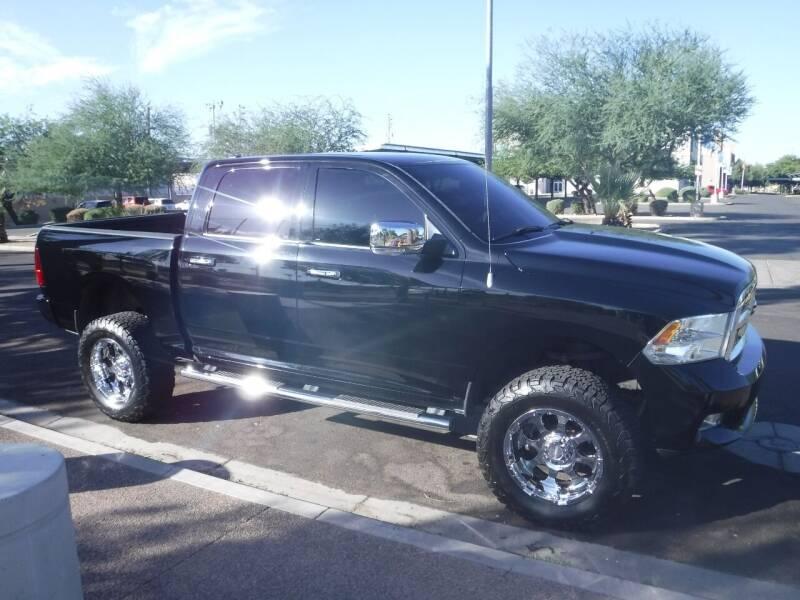 2012 RAM Ram Pickup 1500 for sale at J & E Auto Sales in Phoenix AZ