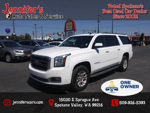 2015 GMC Yukon XL for sale at Jennifer's Auto Sales in Spokane Valley WA