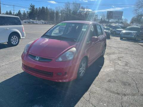 2008 Honda Fit for sale at ARG Auto Sales in Jackson MI