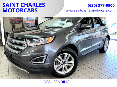 2016 Ford Edge for sale at SAINT CHARLES MOTORCARS in Saint Charles IL