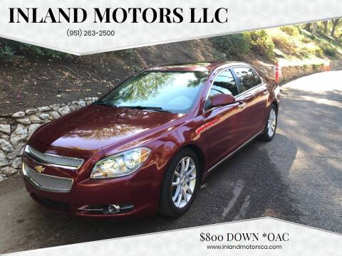 2011 Chevrolet Malibu for sale at Inland Motors LLC in Riverside CA